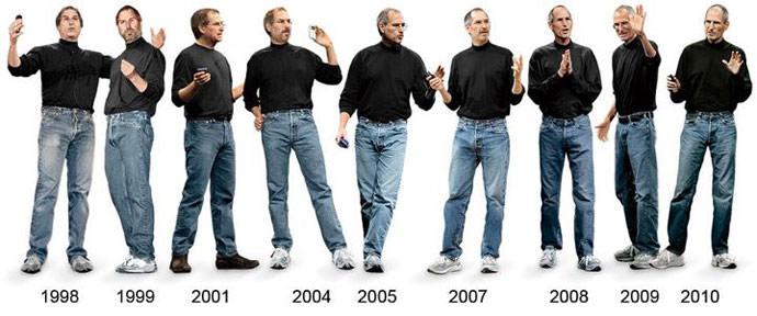 スティーブジョブズのファッション