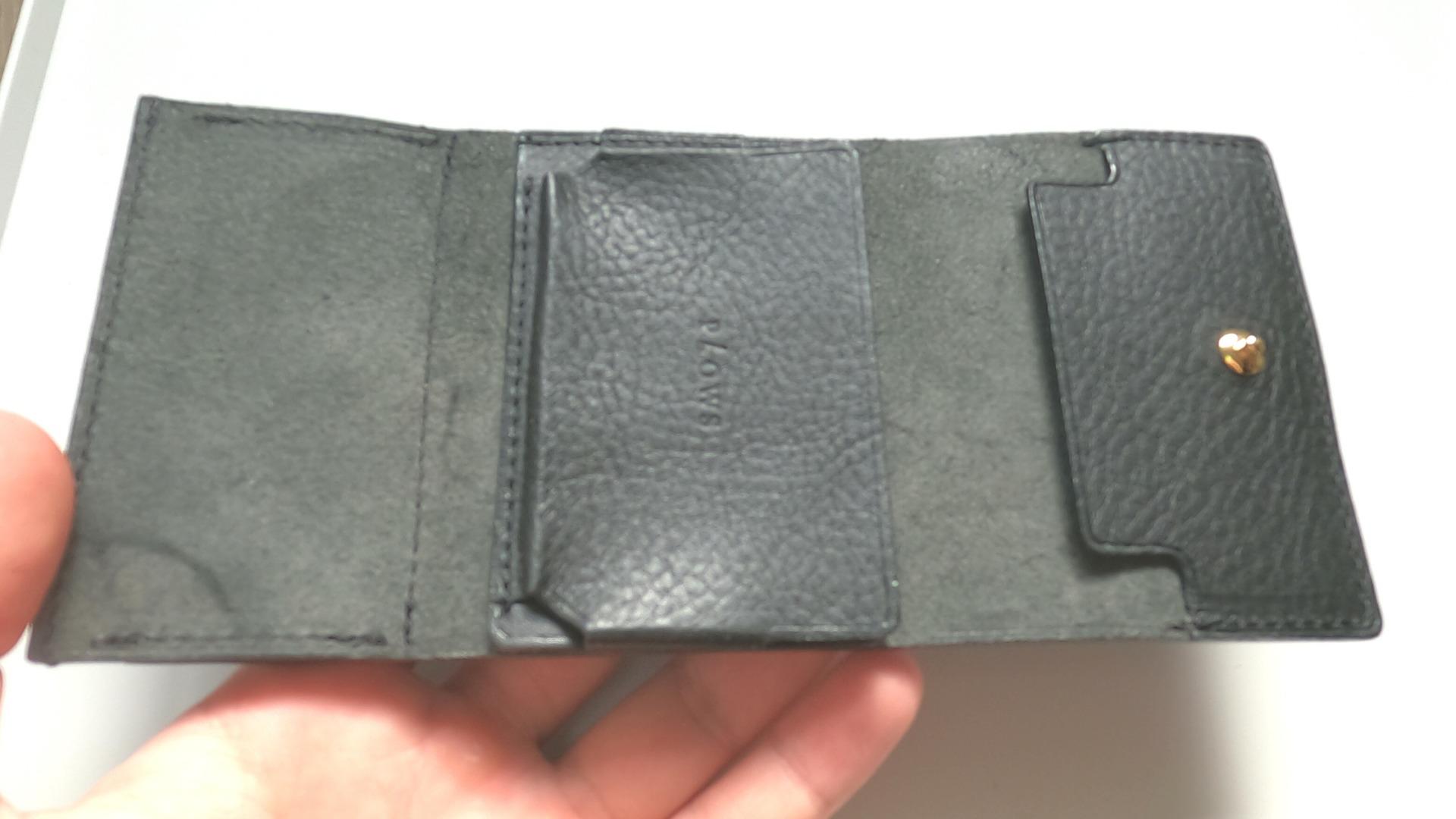 財布にマネークリップと小銭入れが付いた財布rectum3(レクタム)