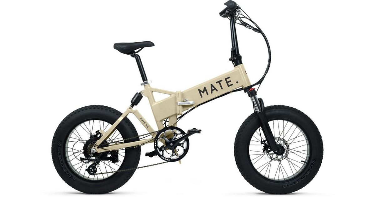 オシャレな折りたたみ電動自転車(e-bike)④MATE.BIKE