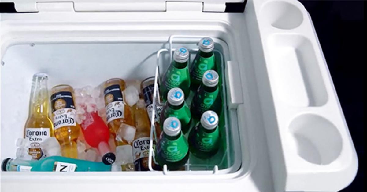 Qreyの車載冷蔵庫は-18°まで冷却可能