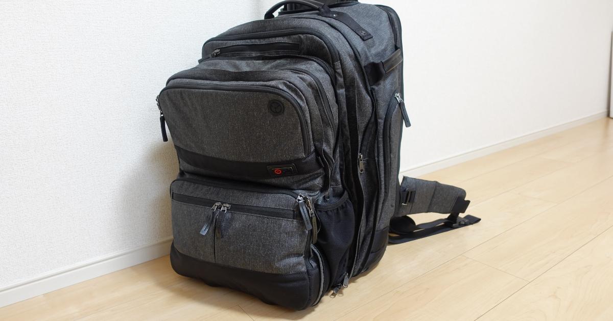 ミニマリストと生きる僕が最後まで残した持ち物⑤3つの鞄が一つになるリュック